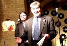 Лауреат Международной литературной премии имени Владимира Гиляровского Марсель Салимов награжден японской медалью  (Москва, 24 декабря 2016)