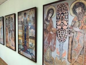 В выставочном зале «Возрождение» города Уфы состоится открытие выставки «Панно для моленной» Николая Рериха