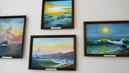 Выставка картин Расимы Тукаевой проходит в Национальной библиотеке РБ
