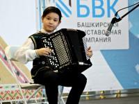 В рамках выставки «Уфа-ладья. Арт. Ремесла. Сувениры» состоялся фестиваль детских фольклорных коллективов Уфы