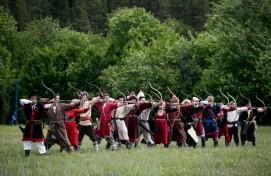 В Салаватском районе прошел Открытый районный турнир по стрельбе из традиционного лука «Салауат уғы» на приз им. Салавата Юлаева
