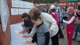 В Краснокамском районе прошла общероссийская социальная акция «Свеча памяти»