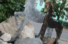 На улицах Ишимбая  появились новые арт-объекты, в рамках подготовки к VI Всемирной фольклориаде – 2020