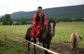 Конный фестиваль «Әхмәт ярышы» состоялся в Саитбабинском сельсовете