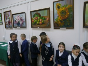 День открытых дверей для школьников прошёл в читальных залах Национальной библиотеки РБ