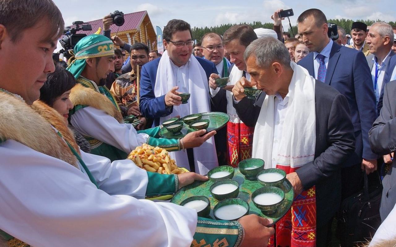 Татарский праздник «Сабантуй» отметят вСимферополе спортивными состязаниями ибольшим казаном плова