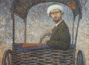 R. Ataullin. Akmulla. 2006-2007. Oil on canvas
