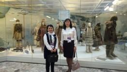 Сибай ҡалаһының тарих һәм тыуған яҡты өйрәнеү музейы VII Халыҡ-ара Санкт-Петербург мәҙәниәт форумында  ҡатнашты