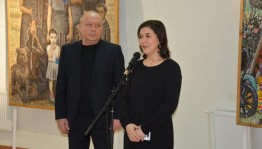 In the museum of Mikhail Nesterov, the opening of the exhibition dedicated to the memory of Akhmat Lutfullin