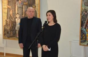 В музее имени Михаила Нестерова состоялось открытие выставки, посвященной памяти Ахмата Лутфуллина