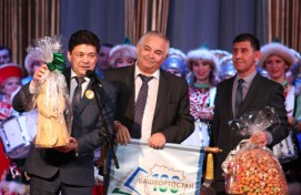 """On the stage of the Bashkir State Philharmonic Society held a concert Duvansky district """"Eternal Call of the Native Land"""""""