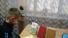 """Һуҡырҙар өсөн республика махсус китапханаһында """"А. Н. Толстойҙың рухи хазинаһы"""""""