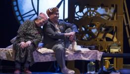 Башҡорт дәүләт академия драма театры гастролдәр менән республиканың төнъяҡ-көнсығыш райондарында