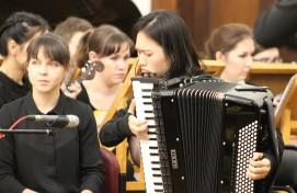 Сегодня в Уфе состоялось открытие VI Международного фестиваля-конкурса исполнителей на клавишном аккордеоне «АККОРДЕОНИССИМО»