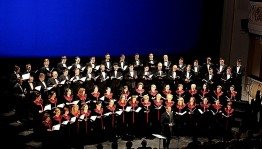 "The choir artists of BSTU presented the program ""Here HORosho ..."""