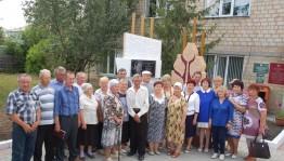 В Зилаире открыли памятник одному из выдающихся руководителей села и района Б.Островскому