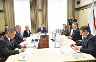 Врио Главы РБ Радий Хабиров встретился с президентом Международного Совета CIOFF Филиппом Боссаном