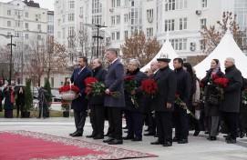 Радий Хабиров принял участие в торжествах к 100-летию народного поэта Башкортостана Мустая Карима