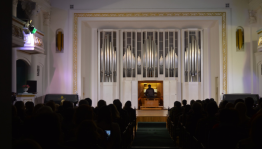 Концертом испанского музыканта завершился Международный органный фестиваль «Sauerfest»