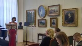 Яркие краски и бархатный тембр в Музыкальной гостиной Художественного музея им. М.В. Нестерова
