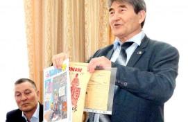 В Казани состоялся творческий вечер башкирского писателя Марселя Салимова