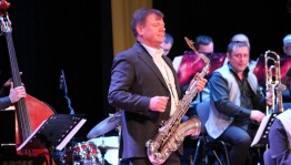 """Festival """"Pink Panther"""" ended with a large Gala concert of leading jazz musicians of Russia and the world"""