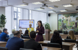 "Minister of Culture of the Republic of Bashkortostan Amina Shafikova took part in the federal project ""Mentors: not close, but together"""
