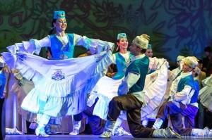 В рамках Всероссийского фестиваля «Голоса России» в Уфе выступит ансамбль песни  и танца Республики Татарстан