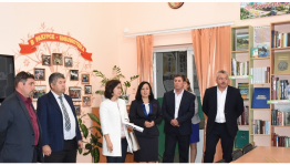 Minister of Culture of the Republic of Bashkortostan Amina Shafikova paid a working visit to the Bakalinsky district