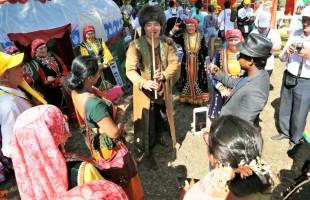 Участники «Берҙәмлек»  побывали на празднике плуга в Благоварском районе