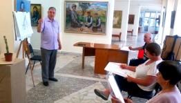 """""""Ижад"""" приглашает на занятие в Арт-студии Альберта Кудаярова"""