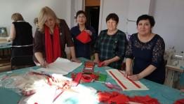 В Куюргазинском районе состоялся семинар-практикум «Традиционный народный костюм башкир РБ»