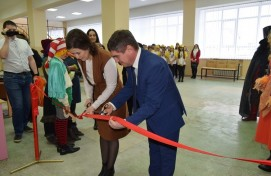 Minister of Culture Amina Shafikova took part in celebrations in the Karmaskalinsky district