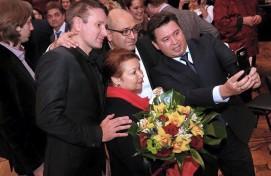 В Москве художественному руководителю башкирского балета Леоноре Куватовой торжественно  вручили премию «Легенда»