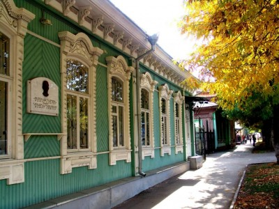 Мемориальный дом-музей Мажита Гафури г. Уфы