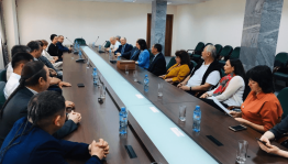 """Culture Minister Amina Shafikova met with guests of the festival """"Tuganlyk"""""""