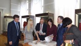 В фонд Национального музея РБ передана в дар фотовыставка болгарского фотографа