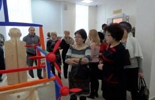 В художественном музее им. М.В. Нестерова состоялась творческая встреча со скульптором Владимиром Лобановым