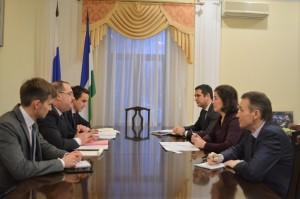 Minister of Culture of the Republic of Bashkortostan Amina Shafikova held a working meeting with the Consul General of Turkey in Kazan Ahmet Sadyk Dogan