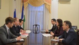 Minister of Culture of the Republic of Bashkortostan Amina Shafikova held a working meeting with the Consul General of Turkey in Kazan Ahmet Sadyk Dogan
