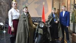 Музей Боевой Славы посетили школьники из Луганской Народной Республики
