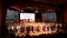 "In Ufa held a grand gala concert of ""Multicolor talents"" festival"
