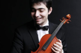 In Ufa, for the first time the famous violinist Daniil Kogan will perform