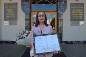 Народной артистке Российской Федерации Нурие Ирсаевой присвоено звание «Почетный гражданин города Уфы»