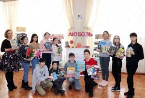 Акция «Дарите книги с любовью - 2020» в Центральной городской библиотеке Уфы