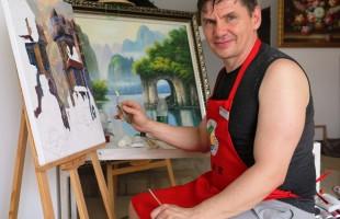 Уфимский живописец и график Михаил Гладких приглашает на мастер-класс