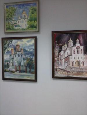 В республике открылась выставка, посвященная 70-летию Свято-Троицкого храма