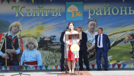 Minister of Culture Amina Shafikova took part in the national holiday Sabantuy in the Kiginsky region