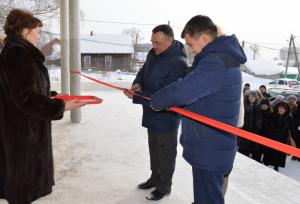 В Татышлинском районе открылся сельский многофункциональный Дом культуры