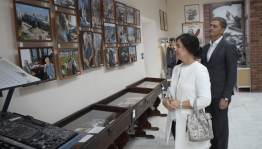 The Minister of culture of Bashkortostan Amina Shafikova visited the Yermekeyevsky district of Bashkortostan